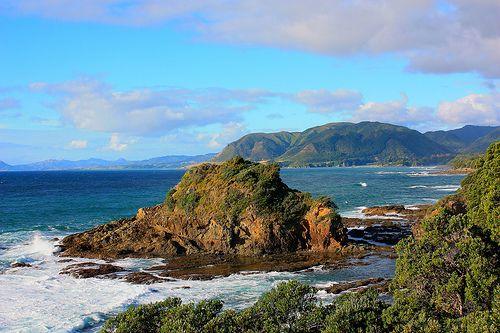 East Coast highway between Gisborne and Opotiki New Zealand
