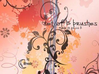 Spring Brushes - Nature Photoshop Brushes | BrushLovers.com