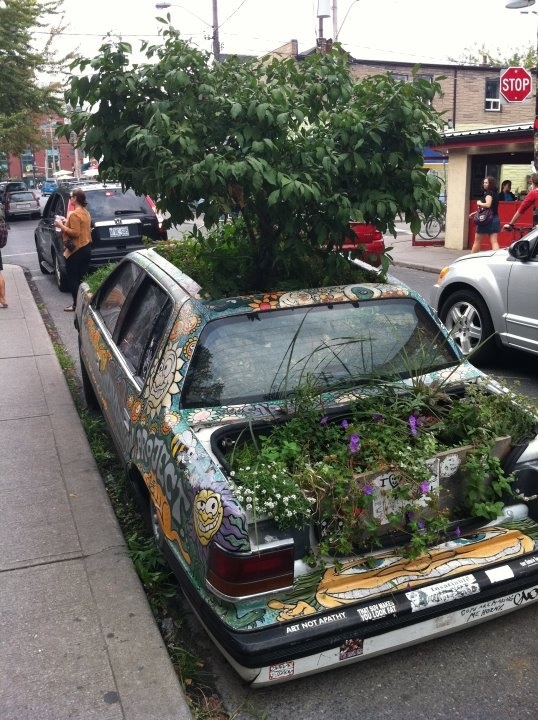 We had one of these in Kensington Market...will have to see if it pops up again!