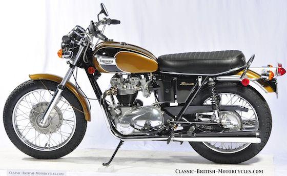 1971 Triumph T120 Bonneville 650, Triumph motorcycles, Triumph TR6