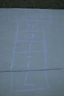 """""""I Can Spell My Name"""" Hopscotch Game"""