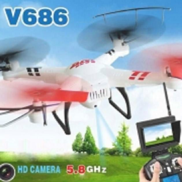 Wltoys V686G V686 5.8G 4CH 6-Axis Gyro FPV RC Quadcopter (Mode 2) with camera #Witoys