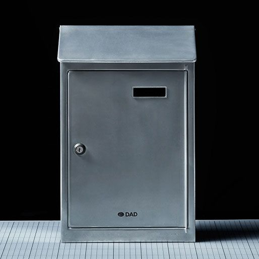 Steel Mail box with door-2 | GENERAL VIEW