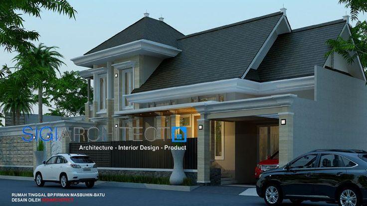 desain rumah klasik mediteran 2 lantai 4