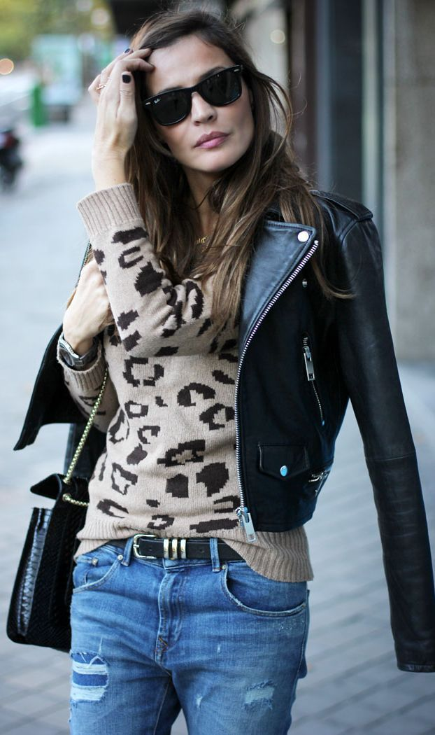 #Leopard #Jumper by LadyAddict => Click to see what she wears
