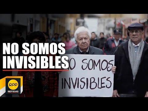 """Miguel Humberto Aguirre, conductor de RPP Noticias, promueve la campaña """"NO SOMOS INVISIBLES"""" a favor del respeto del adulto mayor propuesto por la Defensorí..."""