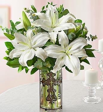 The Easter Lily is a sign of renewal!