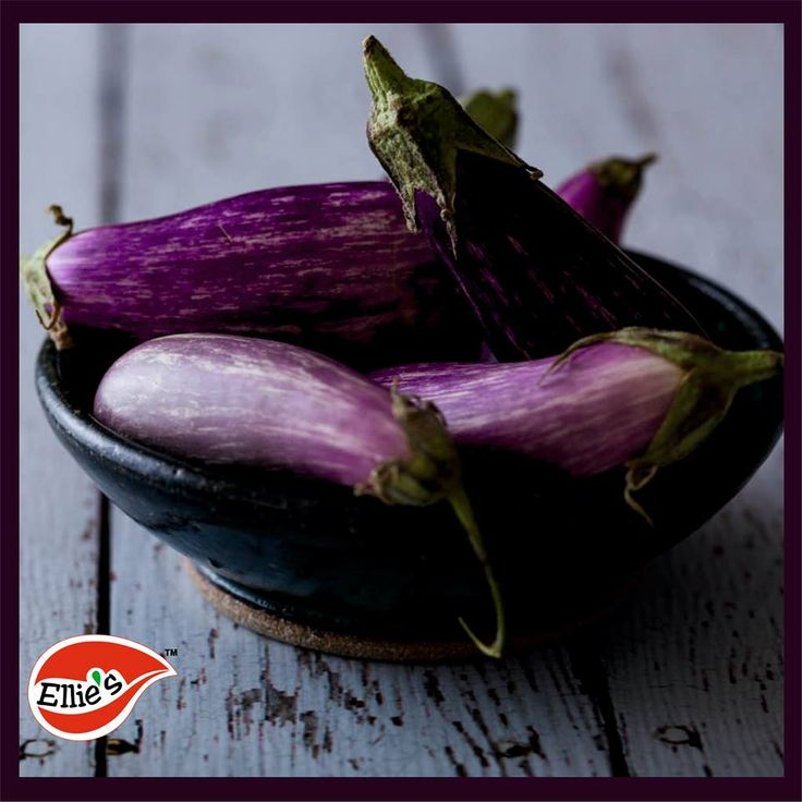 Food fact: Eggplants are actually fruits, and classified botanically as berries.