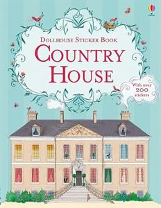Show details for Dollhouse Sticker Book Country House