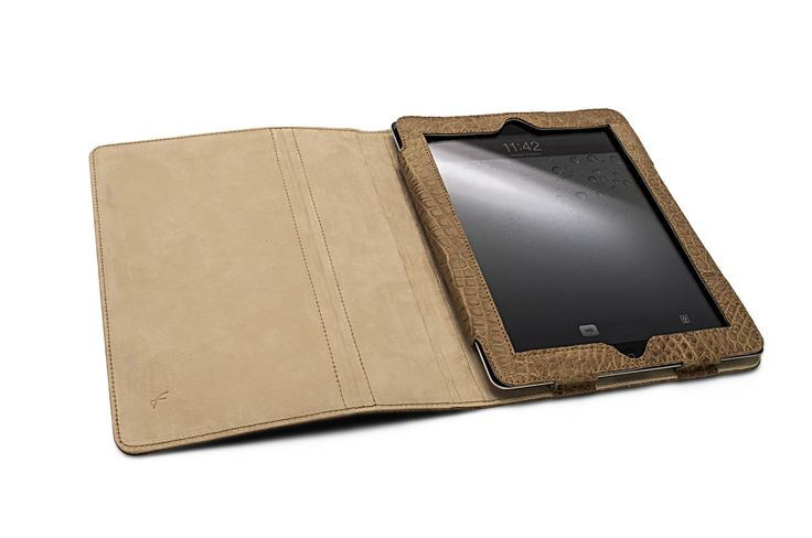 iPad Book Cover Exotic Leather   #ipadcovercollection #FoglizzoLeathergoods #leather #ipad #cover