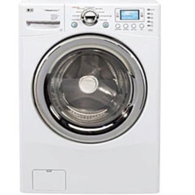 I am so loving my LG Washer Dryer Combo...yep...washes and dries!!