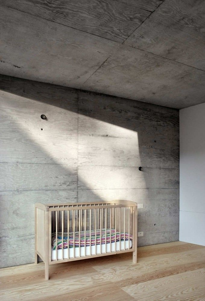 look child, if you're good you can have a toy, behave and you could have plaster and paint.: Architects, Of Vylder, Vinck Taillieu, Vylder Vinck, Concrete House