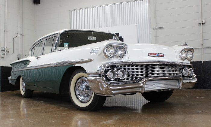 Classic 1958 Chevrolet Bel Air For Sale 2349157 12 900 Chicago