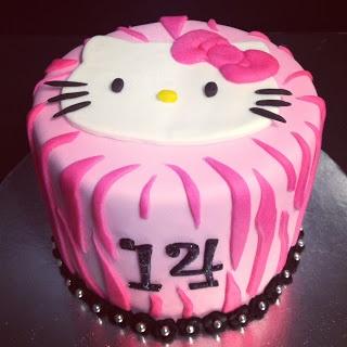 Hello Kity Cake. by incrediBundts & More!
