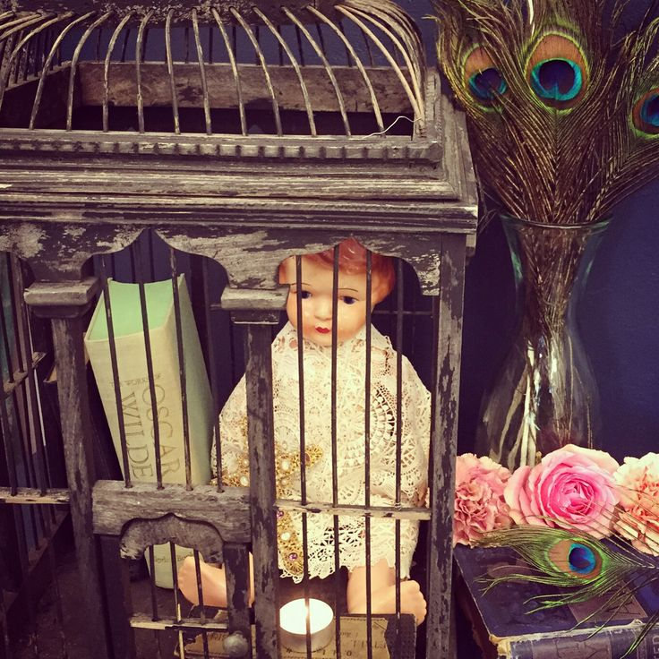 Creepy Doll in a Birdcage, Of course.