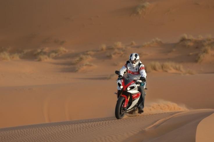 Stephane Peterhansel anda Yamaha R1 2012