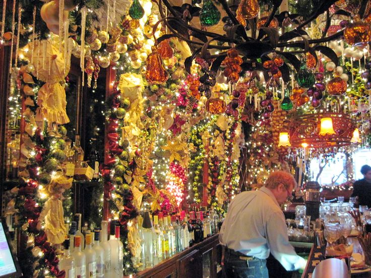 Christmas Decorations At Rolf 39 S German Restaurant New