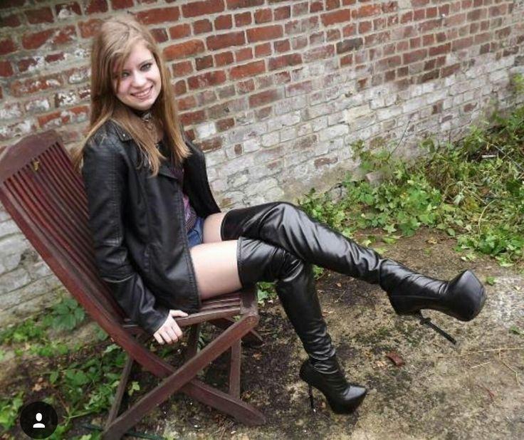 Boots Heels and Overknee : Photo | Girl next door - Boots ...