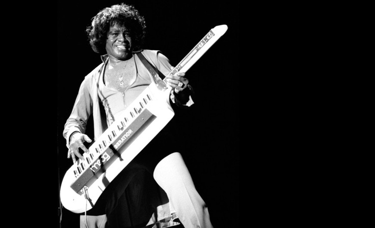 James Brown on #moog syntar, gettin' crazy wit it.  #synth #jamesbrown