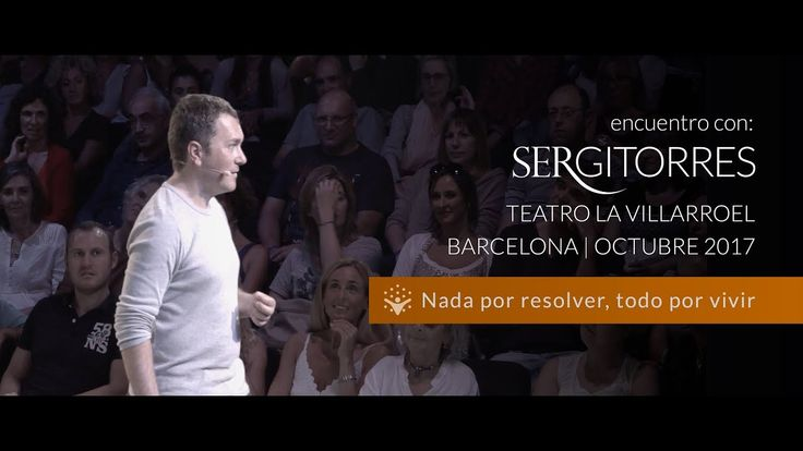 """SERGI TORRES - TEATRO VILLARROEL """"Nada por resolver, todo por vivir"""" - O..."""