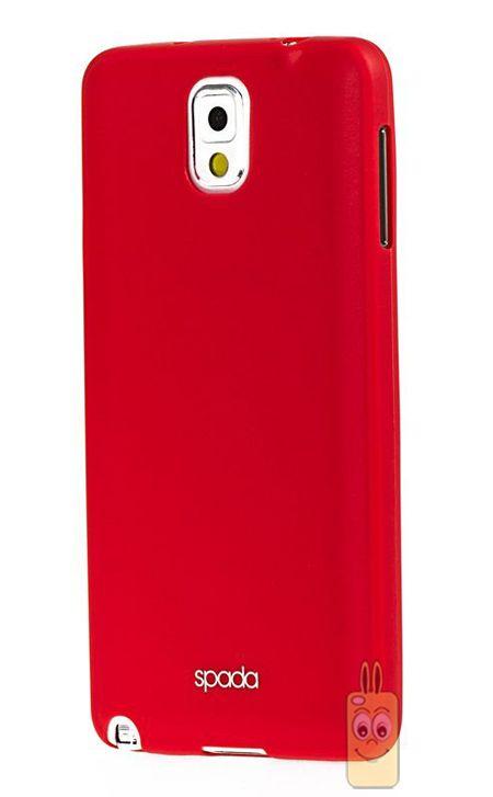 Spada Air TPU Samsung Galaxy Note 3 Kırmızı Silikon Kılıf