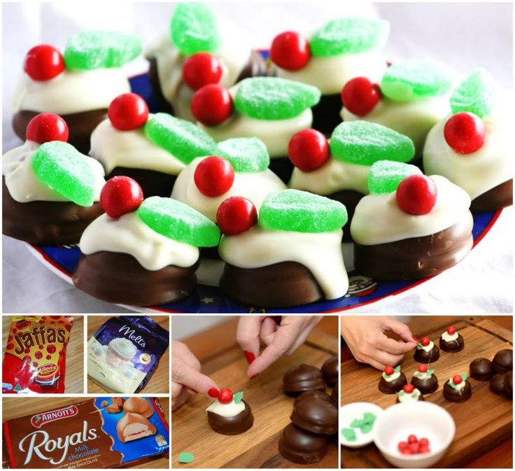 1000+ images about Little chocolate Christmas puddings.. on Pinterest
