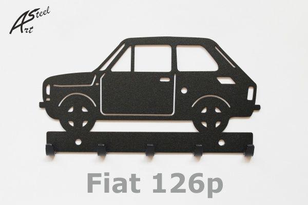 Wieszak na klucze Fiat 126p
