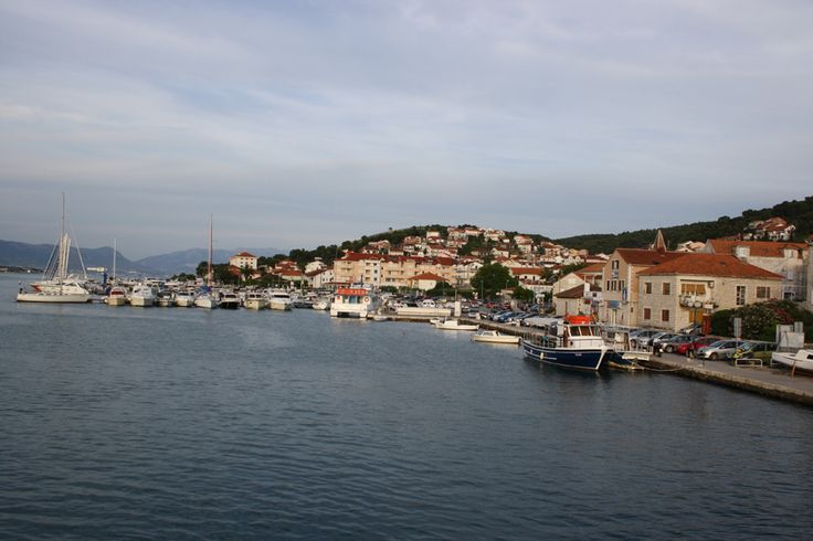 Trogir is a historic town and harbor on the Adriatic coast.
