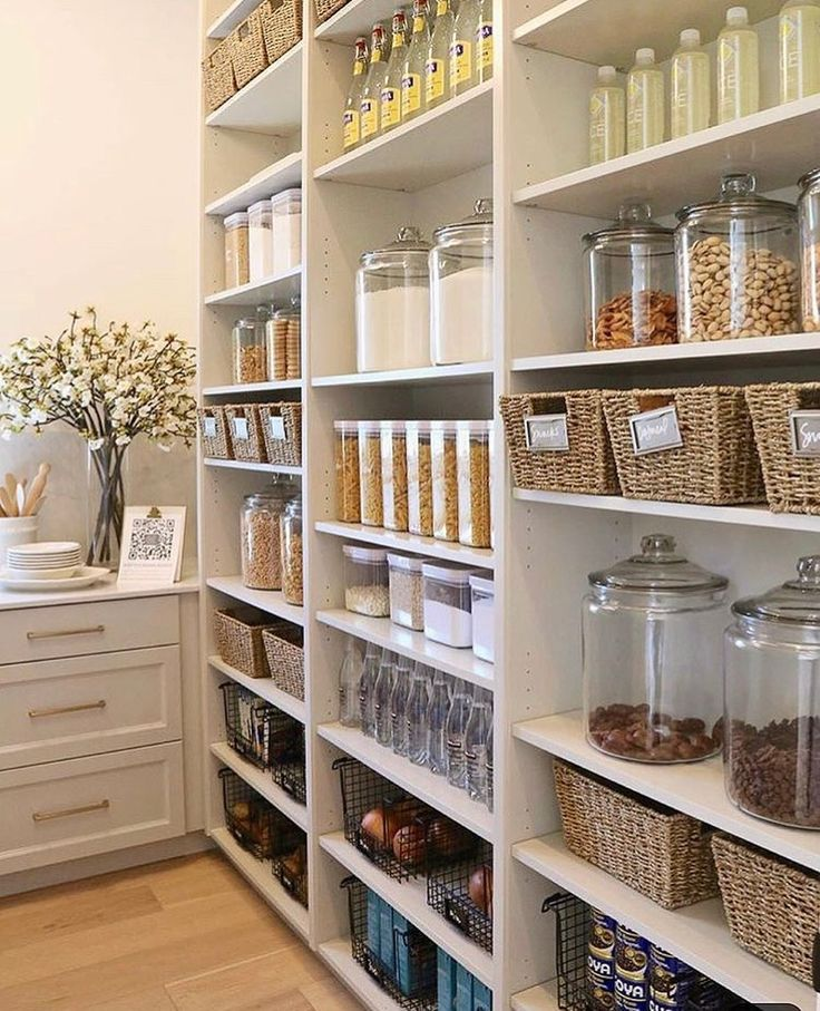 cecelia on instagram pantry goals tag a friend via pinterest kitchen on kitchen organization no pantry id=11789