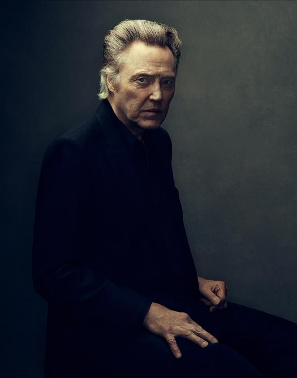 Just discovered this amazing photographer. Thanks for enlightening us @Hansol Kim - Christopher Walken | by Miller Mobley