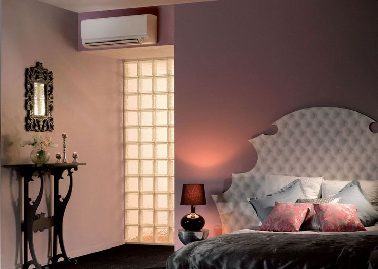 A Small Air Conditioner For Room Above The Door
