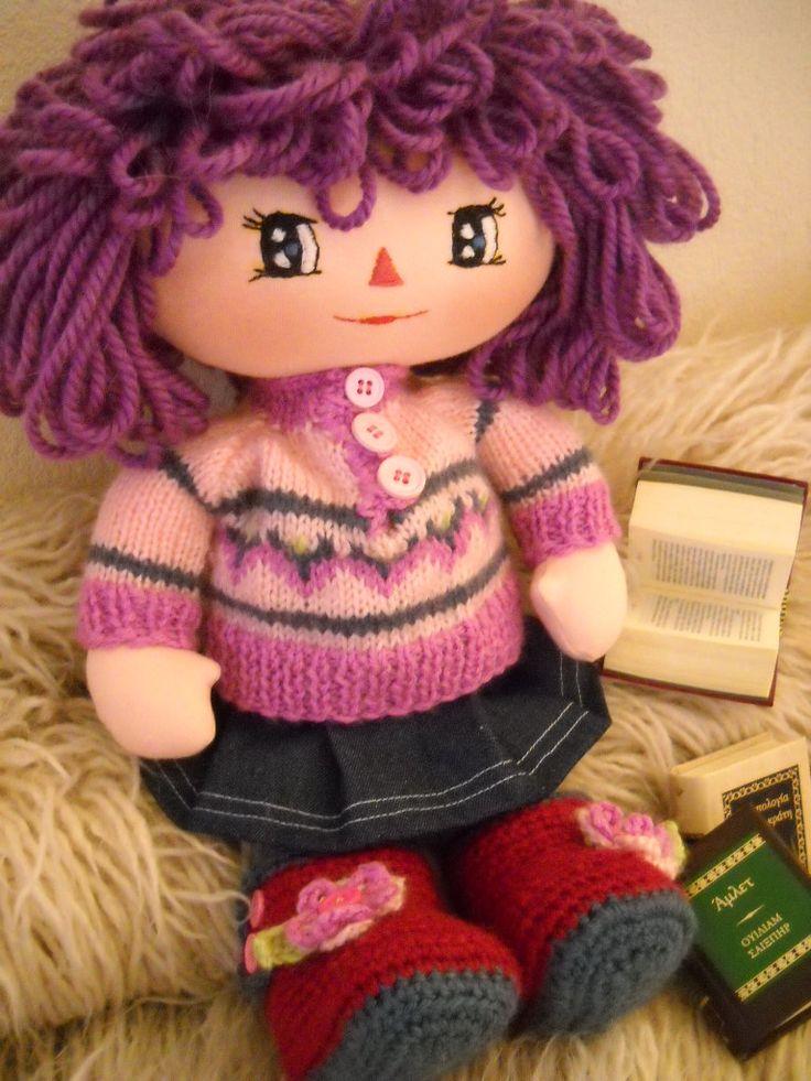 rag doll named eleanna by   daisieshandmadedolls