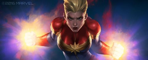 Marvel Future Fight: Captain Marvel  - JeeHyung Lee