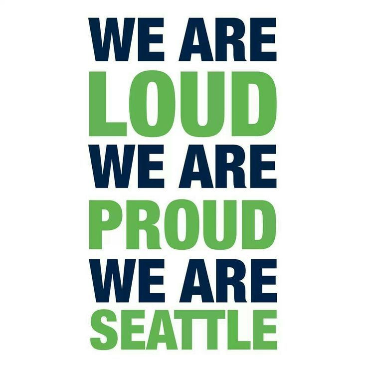 We Are Proud Seattle!