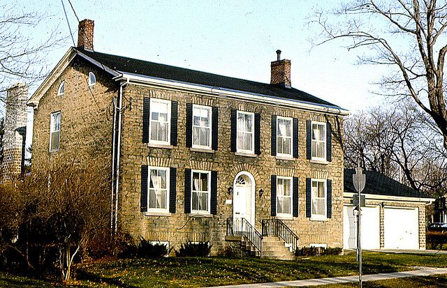 Patrick MURRAY House, 222 King St E., Brockville, ON  (1973)   (Doug Grant collection)
