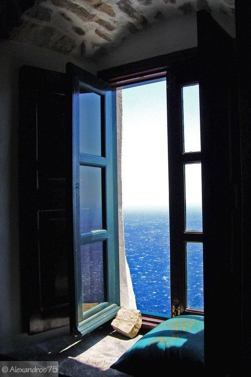 View on Amorgos Island