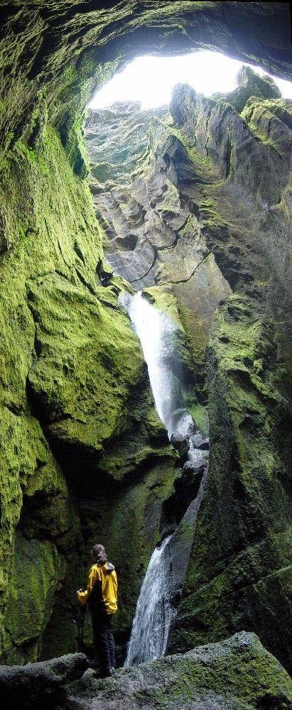 The Stakkholtsgjá Gorge, Thórsmörk, Iceland