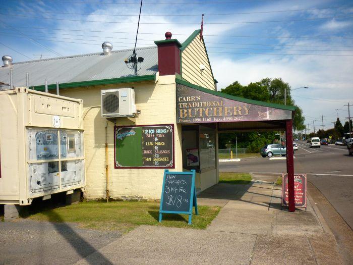 Carr's Traditional Butchery, Cessnock, NSW :)