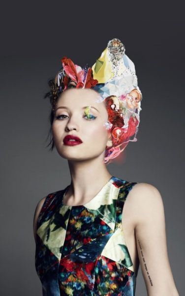 Matt Wisniewski - Futur coutureTattoo Placements, Emilybrown, Dark Hair, Shorts Hair, Makeup, Beautiful, Red Lips, Emily Browning, Pixie Cut