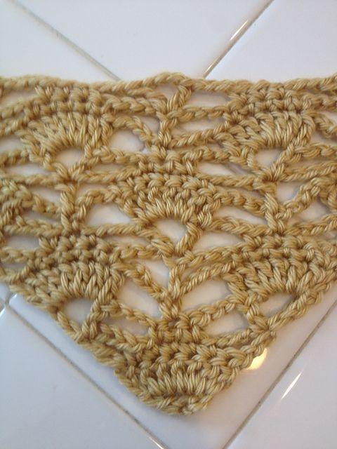 Ravelry: Punto fantasía # 19: punto triangular- Galeria de puntos fantasía en crochet ( quinta parte) pattern by Esperanza Rosas