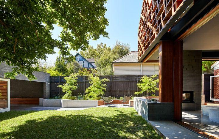 Викторианский дом с ажурным экраном в Мельбурне от Make Architecture - Дизайн интерьеров   Идеи вашего дома   Lodgers