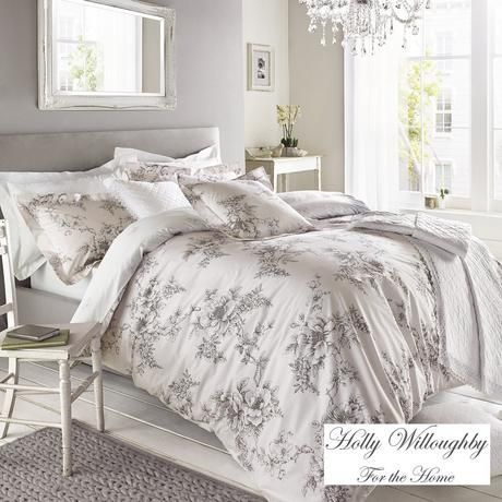 Holly Willoughby Jenna Pink Bed Linen Collection