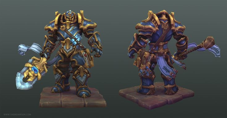 Path of the Paladin 3D Art by Shem Dawson SHEM DAWSON is a Senior 3D Artist at…