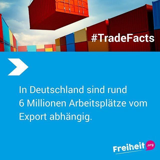 Schon gewusst? Fakten statt Mythen zum Thema Freihandel: unsere #TradeFacts  #g20 #freihandel #g20 #g20hh #freetrade #Freiheit #infographic #fakten #tradefacts #info #information #welthandel #hamburg