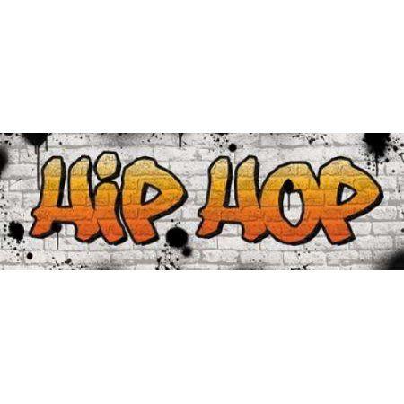 Hip Hop Graffiti Canvas Art - N Harbick (8 x 24)