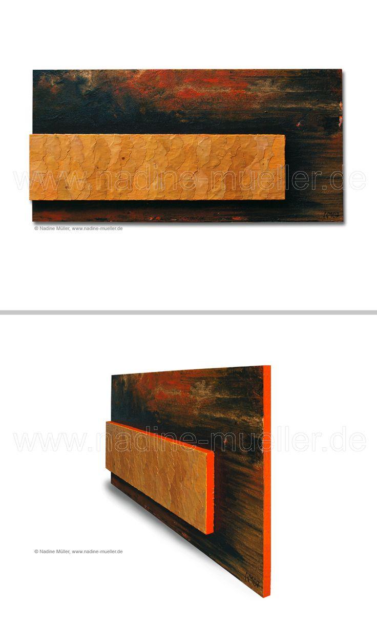 Ginko bei Nacht, #Acryl auf Holzplatte, Ginkoblätter, 35 x 70 cm ---------- Ginko bei Nacht, #acrylic on #wood panel, #ginko #leaves, 35 x 70 cm, Info: artwork@msk-media.com ---------- #art #studio #Kunstatelier #Waiblingen