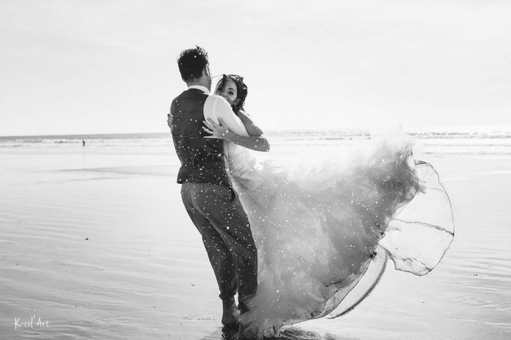 After day wedding Love session plage Photographe mariage Nantes