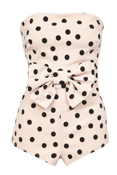 Polka dots swimwear