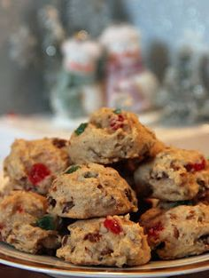 Fruitcake Cookies - perfect for Christmas time