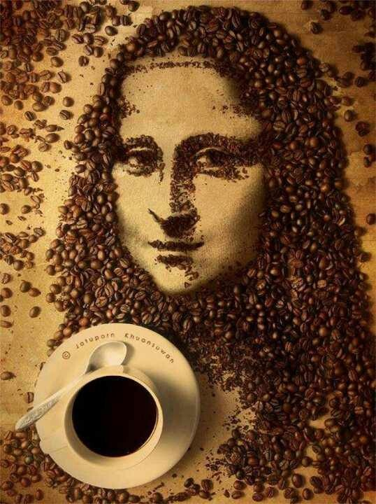 Made with Coffee beans